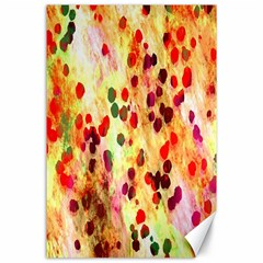 Background Color Pattern Abstract Canvas 24  X 36