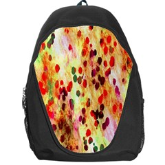 Background Color Pattern Abstract Backpack Bag by Simbadda