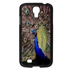 Multi Colored Peacock Samsung Galaxy S4 I9500/ I9505 Case (black) by Simbadda
