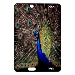 Multi Colored Peacock Amazon Kindle Fire Hd (2013) Hardshell Case by Simbadda