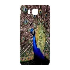 Multi Colored Peacock Samsung Galaxy Alpha Hardshell Back Case by Simbadda