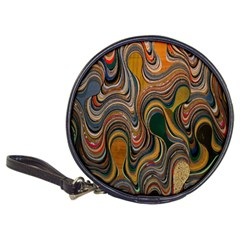 Swirl Colour Design Color Texture Classic 20 Cd Wallets by Simbadda