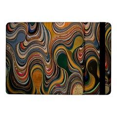 Swirl Colour Design Color Texture Samsung Galaxy Tab Pro 10 1  Flip Case by Simbadda