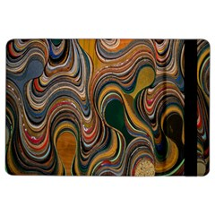 Swirl Colour Design Color Texture Ipad Air 2 Flip by Simbadda