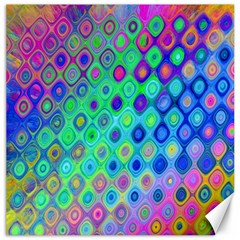 Background Texture Pattern Colorful Canvas 20  X 20   by Simbadda