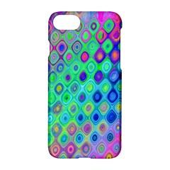 Background Texture Pattern Colorful Apple Iphone 7 Hardshell Case by Simbadda