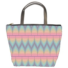 Pattern Background Texture Colorful Bucket Bags by Simbadda