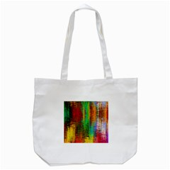 Color Abstract Background Textures Tote Bag (white) by Simbadda