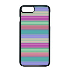 Backgrounds Pattern Lines Wall Apple Iphone 7 Plus Seamless Case (black) by Simbadda