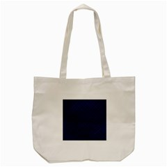 Woven2 Black Marble & Blue Leather (r) Tote Bag (cream) by trendistuff