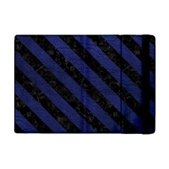 STR3 BK-MRBL BL-LTHR (R) iPad Mini 2 Flip Cases by trendistuff