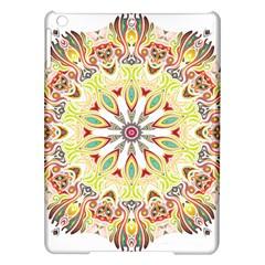Intricate Flower Star Ipad Air Hardshell Cases by Alisyart