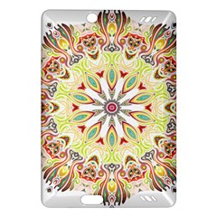 Intricate Flower Star Amazon Kindle Fire Hd (2013) Hardshell Case by Alisyart
