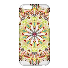 Intricate Flower Star Apple Iphone 6 Plus/6s Plus Hardshell Case by Alisyart