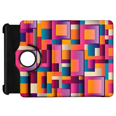 Abstract Background Geometry Blocks Kindle Fire Hd 7  by Simbadda