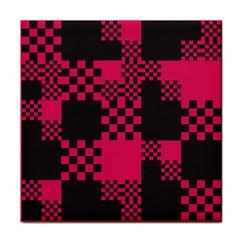 Cube Square Block Shape Creative Tile Coasters by Simbadda