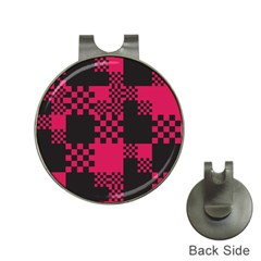 Cube Square Block Shape Creative Hat Clips With Golf Markers by Simbadda