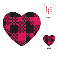 Cube Square Block Shape Creative Playing Cards (heart)  by Simbadda