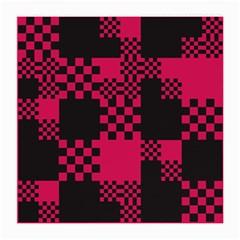 Cube Square Block Shape Creative Medium Glasses Cloth by Simbadda
