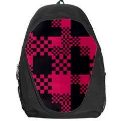 Cube Square Block Shape Creative Backpack Bag by Simbadda