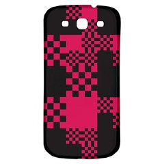 Cube Square Block Shape Creative Samsung Galaxy S3 S Iii Classic Hardshell Back Case by Simbadda