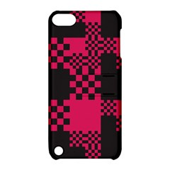 Cube Square Block Shape Creative Apple Ipod Touch 5 Hardshell Case With Stand by Simbadda