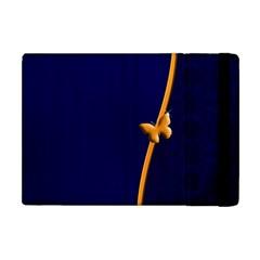 Greeting Card Invitation Blue Apple Ipad Mini Flip Case by Simbadda