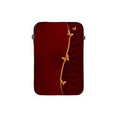 Greeting Card Invitation Red Apple Ipad Mini Protective Soft Cases by Simbadda