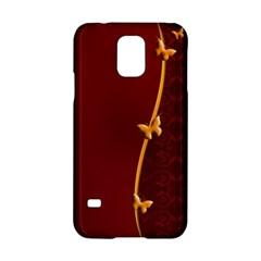 Greeting Card Invitation Red Samsung Galaxy S5 Hardshell Case  by Simbadda