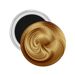 Gold Background Texture Pattern 2 25  Magnets by Simbadda