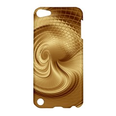 Gold Background Texture Pattern Apple Ipod Touch 5 Hardshell Case by Simbadda