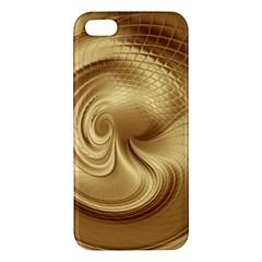 Gold Background Texture Pattern Iphone 5s/ Se Premium Hardshell Case by Simbadda