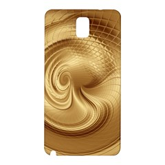 Gold Background Texture Pattern Samsung Galaxy Note 3 N9005 Hardshell Back Case by Simbadda