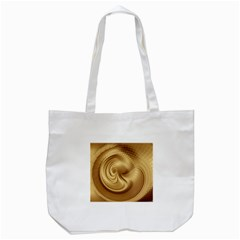 Gold Background Texture Pattern Tote Bag (white) by Simbadda