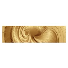 Gold Background Texture Pattern Satin Scarf (oblong) by Simbadda