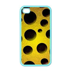 Background Design Random Balls Apple Iphone 4 Case (color) by Simbadda