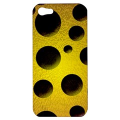 Background Design Random Balls Apple Iphone 5 Hardshell Case by Simbadda