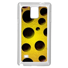 Background Design Random Balls Samsung Galaxy Note 4 Case (white) by Simbadda
