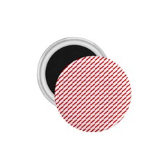 Pattern Red White Background 1 75  Magnets by Simbadda
