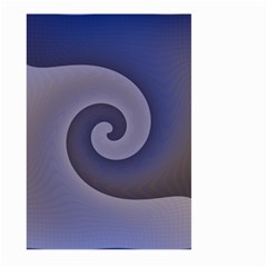 Logo Wave Design Abstract Large Garden Flag (two Sides) by Simbadda