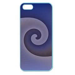 Logo Wave Design Abstract Apple Seamless Iphone 5 Case (color) by Simbadda