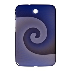Logo Wave Design Abstract Samsung Galaxy Note 8 0 N5100 Hardshell Case  by Simbadda