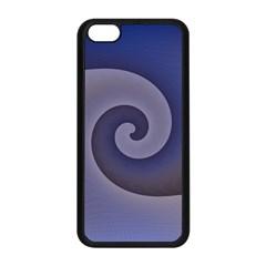 Logo Wave Design Abstract Apple Iphone 5c Seamless Case (black) by Simbadda