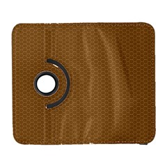 Pattern Honeycomb Pattern Brown Galaxy S3 (flip/folio) by Simbadda