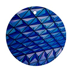 Lines Geometry Architecture Texture Ornament (round) by Simbadda