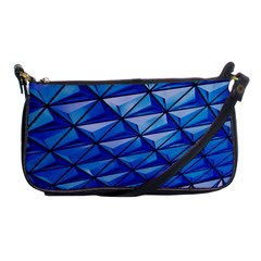 Lines Geometry Architecture Texture Shoulder Clutch Bags by Simbadda