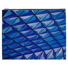 Lines Geometry Architecture Texture Cosmetic Bag (xxxl)  by Simbadda