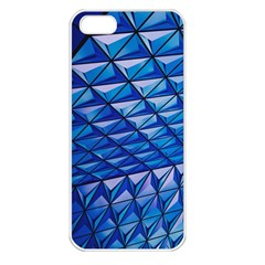 Lines Geometry Architecture Texture Apple Iphone 5 Seamless Case (white) by Simbadda