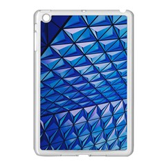 Lines Geometry Architecture Texture Apple Ipad Mini Case (white) by Simbadda