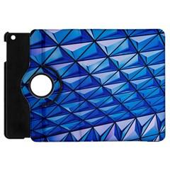 Lines Geometry Architecture Texture Apple Ipad Mini Flip 360 Case by Simbadda